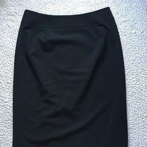 Black Suit Pencil Skirt